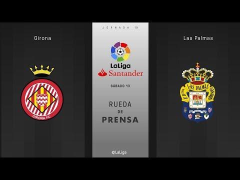 Rueda de prensa Girona vs Las Palmas