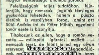 Martie negru - Targu Mures 1990 Vatra Romaneasca Thumbnail