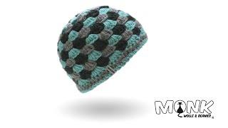 Mütze häkeln - Beanie im Muschelmuster häkeln