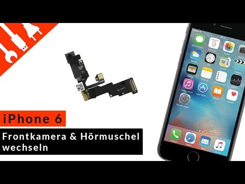 iphone 6 frontkamera und h rmuschel wechseln youtube. Black Bedroom Furniture Sets. Home Design Ideas