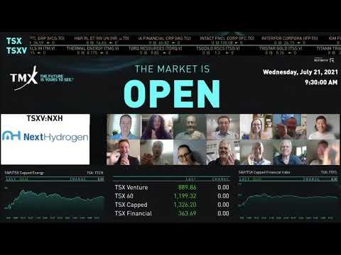 Next Hydrogen Virtually Opens The Market