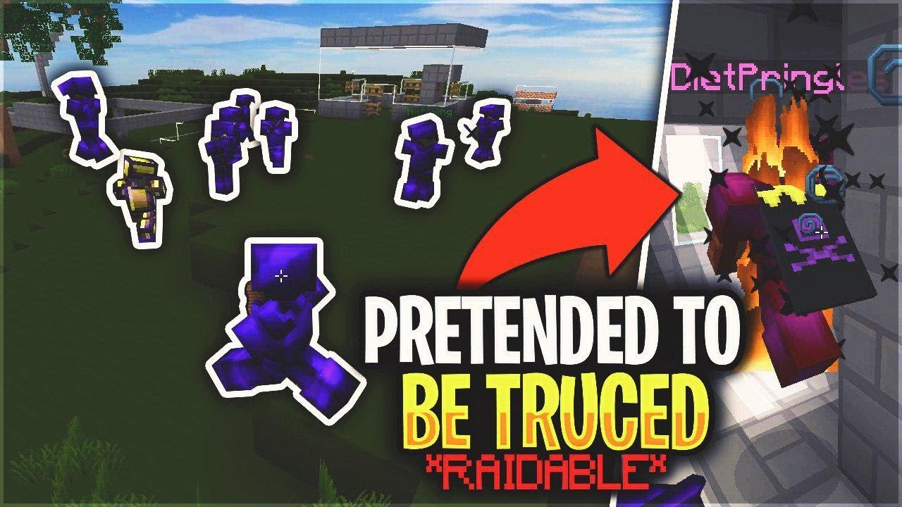 WE PRETENDED TO BE TRUCED & THEN MADE THEM RAIDABLE    *INSANE* | Minecraft  HCF