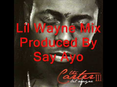Lil Wayne-A Million Here A Million There Mix By Say Ayo