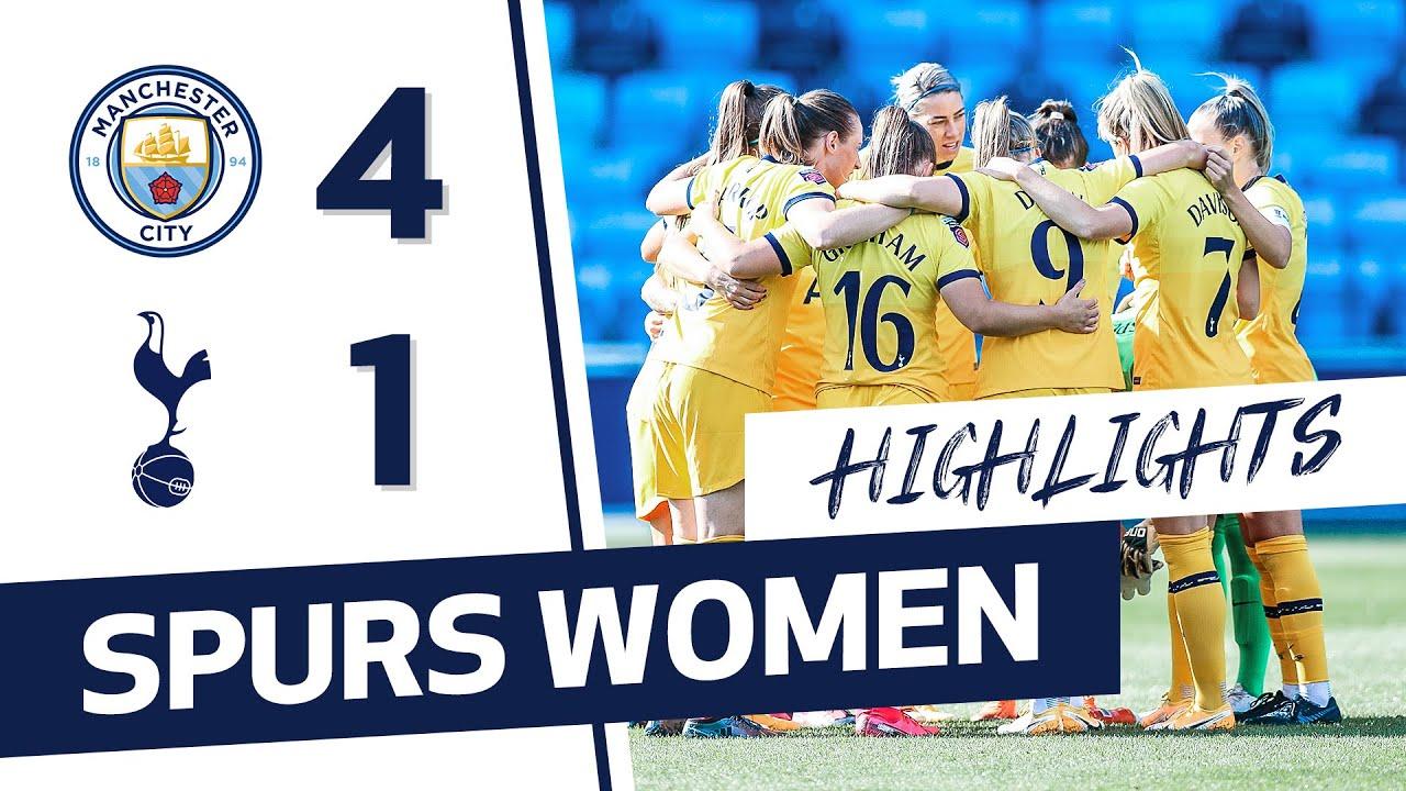 HIGHLIGHTS | MANCHESTER CITY 4-1 SPURS WOMEN | FAWSL