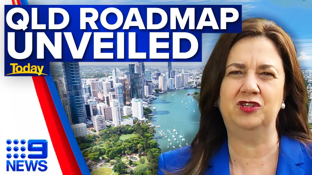 Download Queensland border to open by Christmas for fully vaccinated travellers   9 News Australia