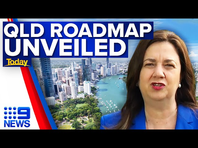 Queensland border to open by Christmas for fully vaccinated travellers   9 News Australia
