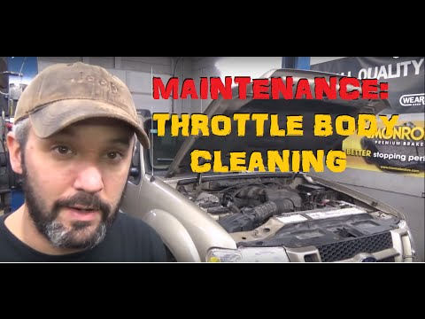 Throttle Body Cleaning To Restore Idle Quality