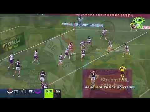 Josh Addo-Carr Vs Justin Olam. Two Melbourne Storm Players.