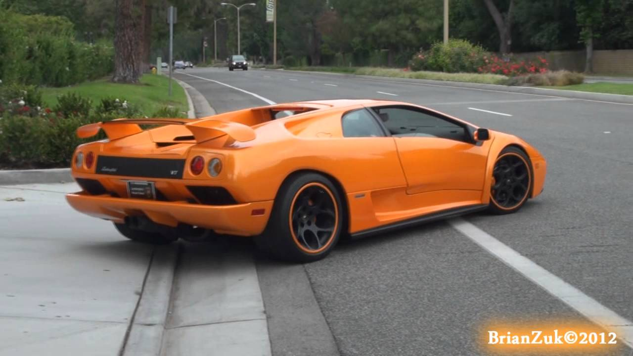 Black And Red Wallpaper Lamborghini Diablo Vt 6 0 Acceleration Youtube