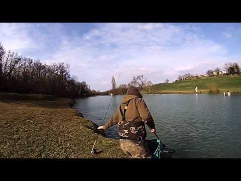 Pêche à La Mouche En Réservoir Janvier 2015