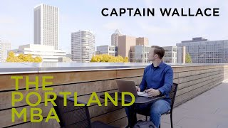 Robert Allen Wallace   An army officer's path to The Portland MBA