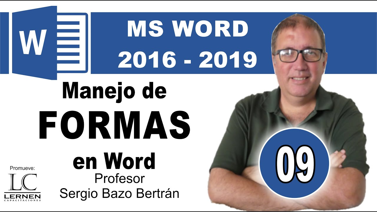 Curso GRATUITO de WORD | Parte 09 | Manejo de FORMAS en Word