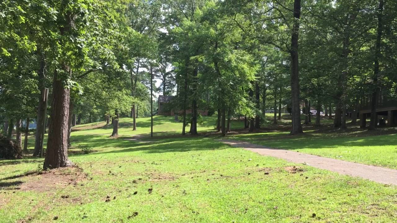 Percy Quin State Park By The Smaller Cabins Mccomb Mississippi