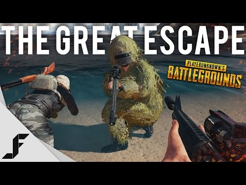 THE GREAT ESCAPE - Battlegrounds