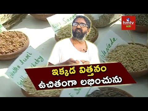 హైదరాబాద్లో దేశీ విత్తనోత్సవం !! | Desi Seeds | Farmer Vijay Ram | Natural Farming | hmtv Agri
