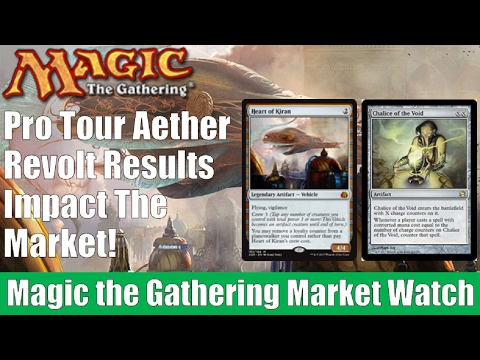 MTG Market Watch: Pro Tour Aether Revolt Results Impact the Market!