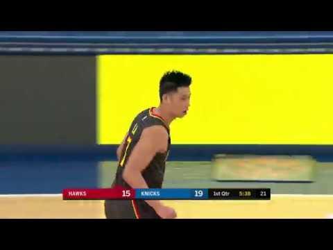 Jeremy Lin Highlights - Hawks at Knicks 12/21/18