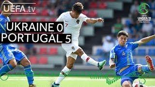 #U19 EURO highlights: Ukraine 0-5 Portugal