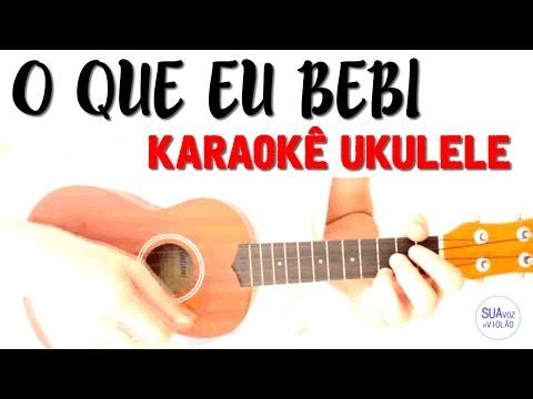 O que eu bebi - Clarice Falcão - Karaoke com Ukulele