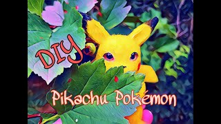 Pokemon Pikachu DIY Sculpting