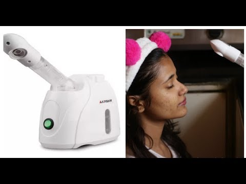 Home use facial steamer REVIEW