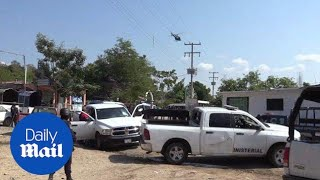 11 dead after cartel shootout in Mexico's Guerrero state - Daily Mail