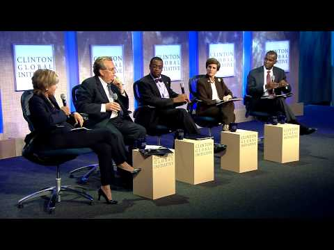 The Future of Food Panel Discussion - 2012 CGI Annual Meetin