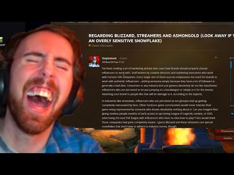 Asmongold Gets $1000+ From A Forum RAGE Post