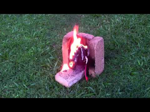 Lithium Polymer battery fire