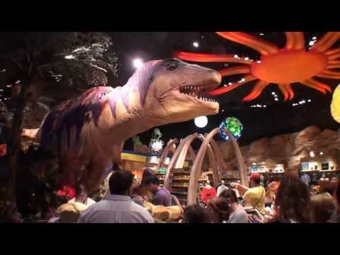 Walt Disney World Downtown Disney T-REX Cafe 1080P