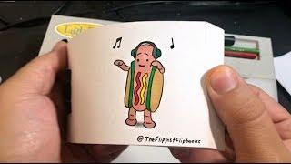 Dancing Hot Dog Flipbook