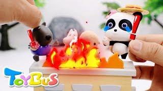 Paw Patrol Pups Save Baby Panda | Super Rescue Team | PAW Patrol Cartoon | Shark Story | ToyBus