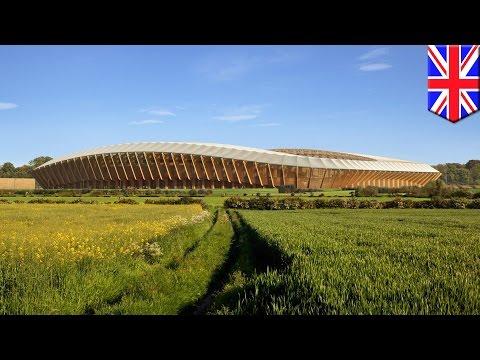 Forest Green Rovers new stadium: English club build world's first wooden soccer stadium - TomoNews