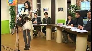 井上苑子 J:COMの『8時です!生放送』2011年3月29日 ♪笑顔