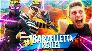 FORTNITE: HOW to DIVENT A REAL JOKE!! w/Zanzo
