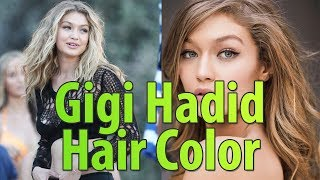 Gigi Hadid Hair Color | She's Always Awesome Even in Poker Face 😅