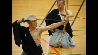 KYUDO PARIS 2012 - Iijima Sensei - Otoya