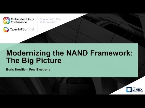 Modernizing the NAND Framework: The Big Picture