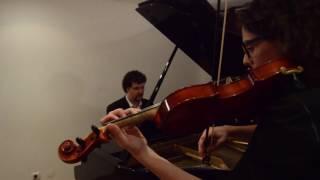 Repeat youtube video Comptine d'Un Autre Été - Yann Tiersen (Violin and Piano)