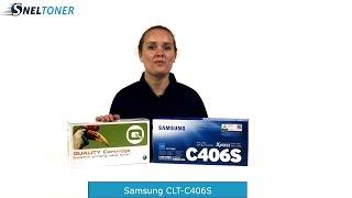 Samsung CLT-C406S toner cartridge cyaan bij Sneltoner