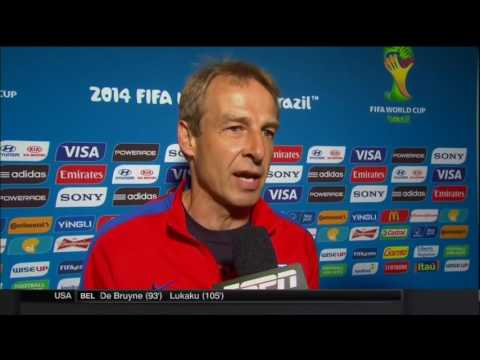 Jürgen Klinsmann Losing Post Match Interview | LIVE 7 1 14
