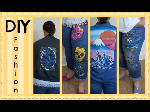 DIY Fashion: How to transfer any image onto clothes!