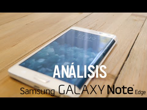 352414997a5 Análisis Samsung Galaxy Note Edge, review en español - YouTube