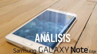 Análisis Samsung Galaxy Note Edge, review en español
