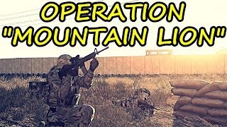"""25th Infantry Division Operation """"Mountain Lion"""" - Arma 3"""