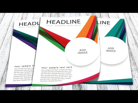 Illustrator tutorial - How to design a flyer thumbnail