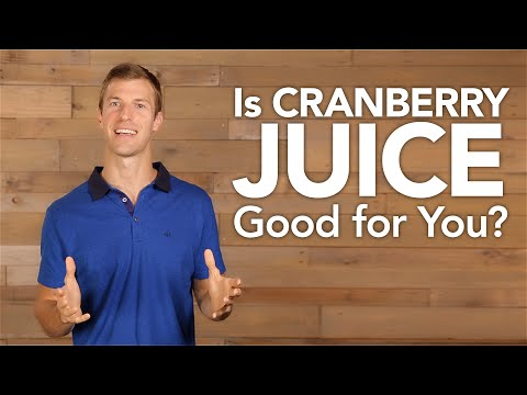 Is Cranberry Juice Good for You?