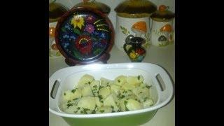 Hungarian Parsley Potatoes  /  Petrezselymes Krumpli
