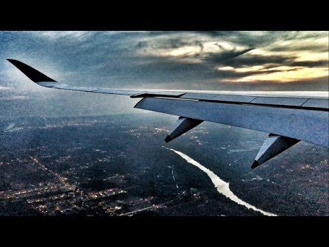 Singapore Airlines A350 GRACEFUL Sunset Landing in Kuala Lumpur, Malaysia