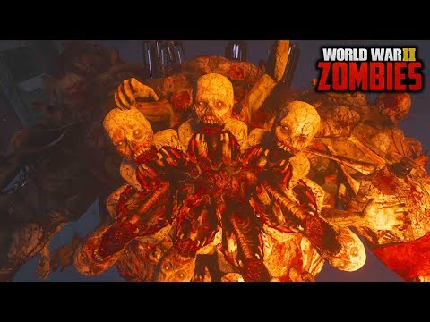 WW2 ZOMBIES - FULL MAIN EASTER EGG GUIDE HUNT GAMEPLAY! (Call of Duty WW2 Zombies)